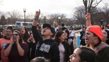 Dream Act Rally in Upper Senate Park