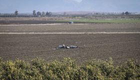 US drone crashes in a field in Turkey's Adana