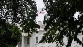 US-SHOOTING-TEXAS-WHITE HOUSE-HALF-STAFF