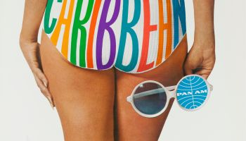 Pan Am Caribbean Travel Poster