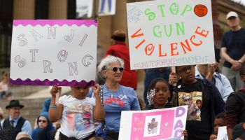 Families and friends of victims of gun violence join allies...