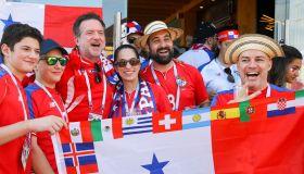 2018 FIFA World Cup: football fans in Sochi