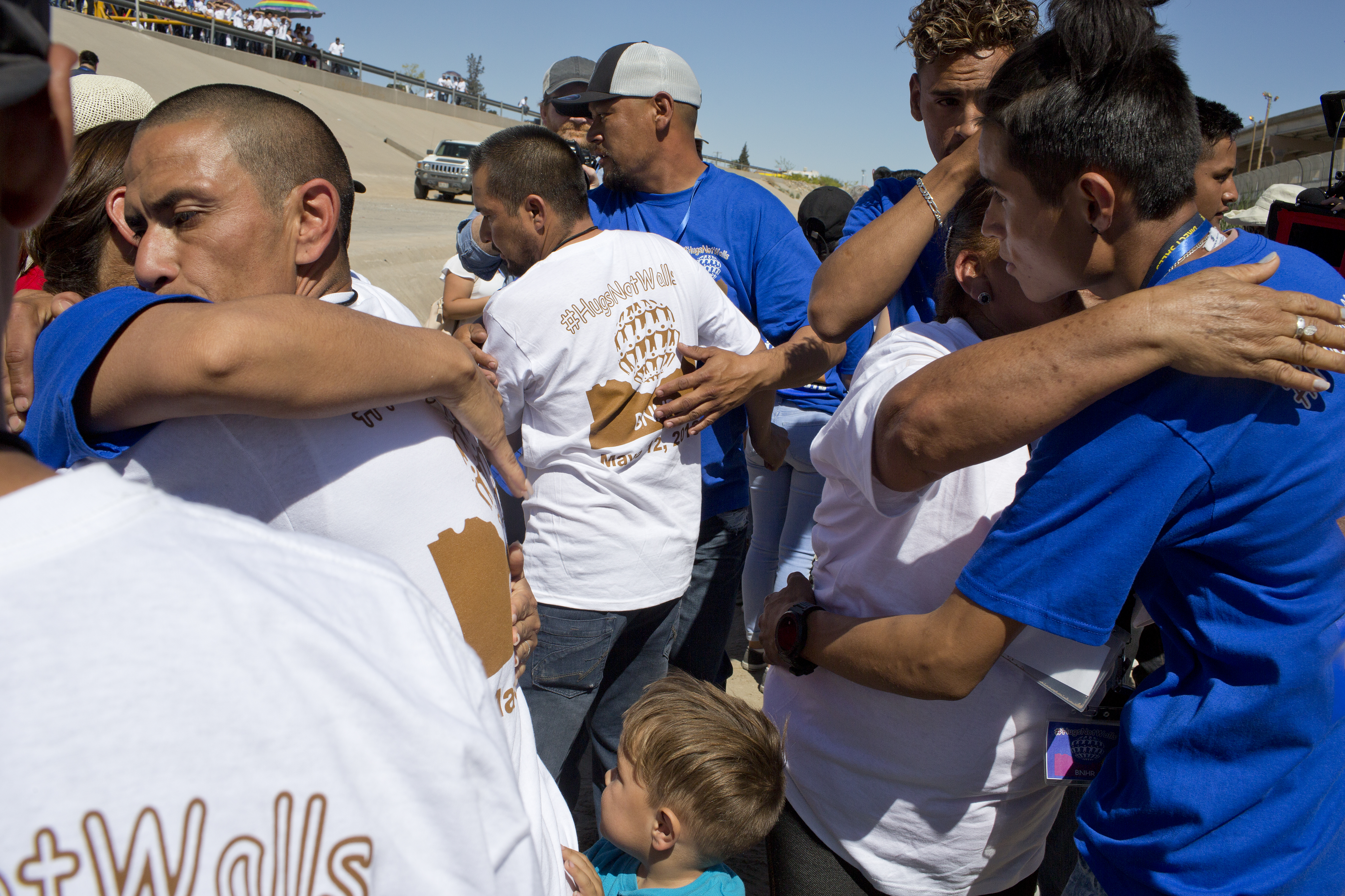 Reunion Of Families Separated By The U.S.-Mexico Border