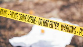 Open crime scene