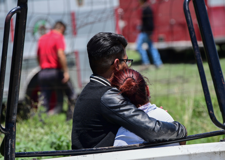 MEXICO-MARKET-FIREWORKS-BLAST
