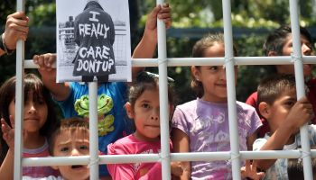 MEXICO-US-MIGRATION-PROTEST