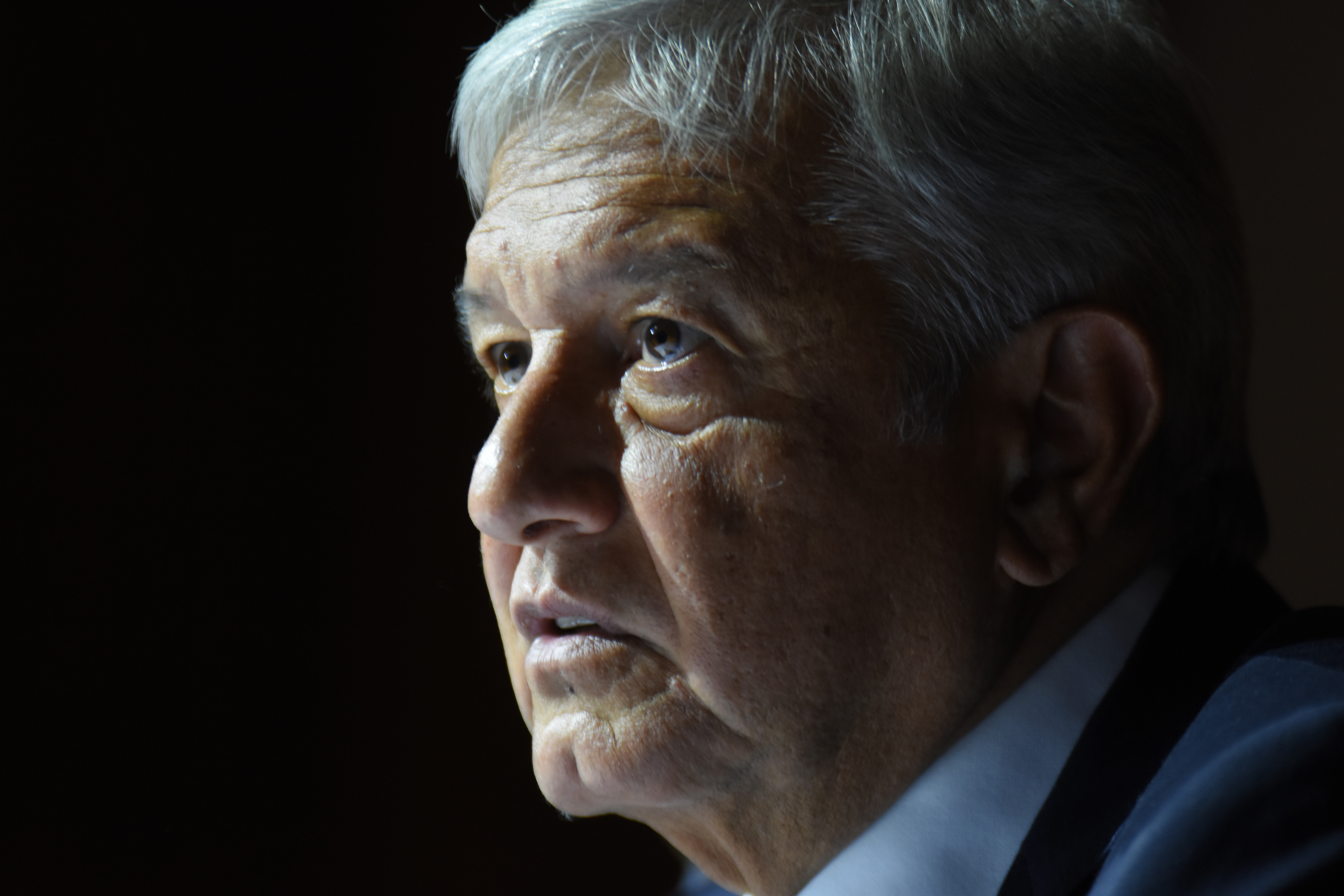Andres Manuel Lopez Obrador Press Conference