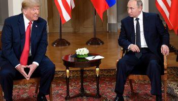 Xinhua Headlines: Trump-Putin meeting: warm words, few results