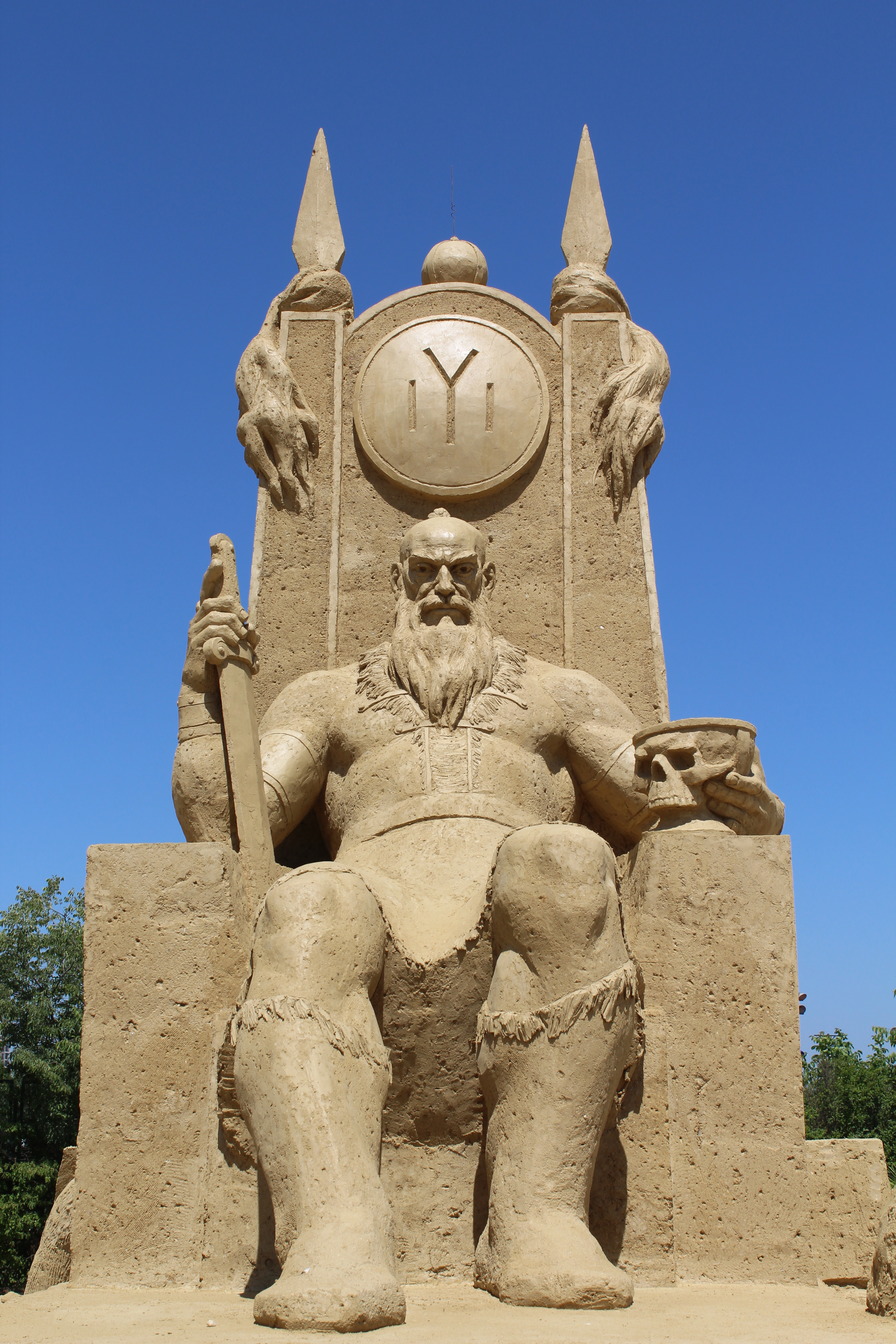 The 10th International sand sculptures festival