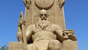 The 10th International sand sculptures festival