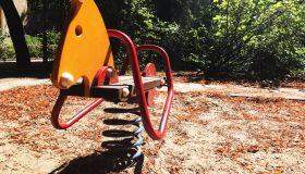 A horse - playground equipment