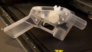 Gun Made from 3-D Printer