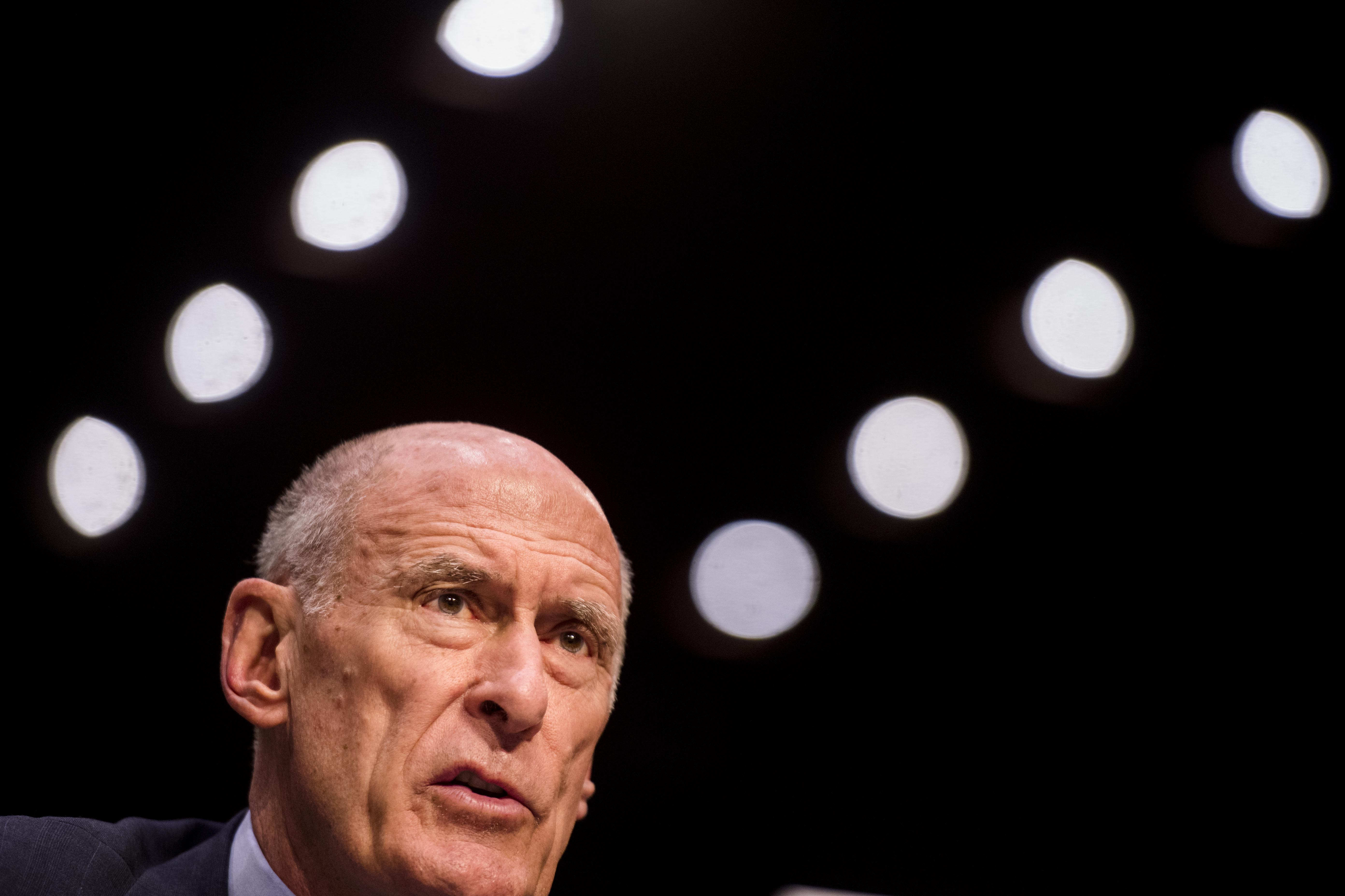 Director Of National Intelligence Daniel Coats and Director of Defense Intelligence Agency Lieutenant General Robert Ashley