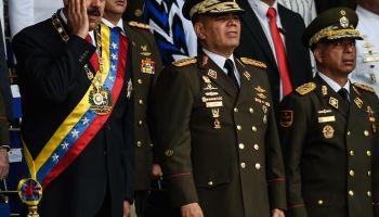 TOPSHOT-VENEZUELA-MILITARY