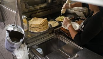 Homemade Quesadillas and Tacos in Queens Food Cart