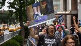 Activists Demonstrate Against U.S. President Donald Trump's Immigration Policies