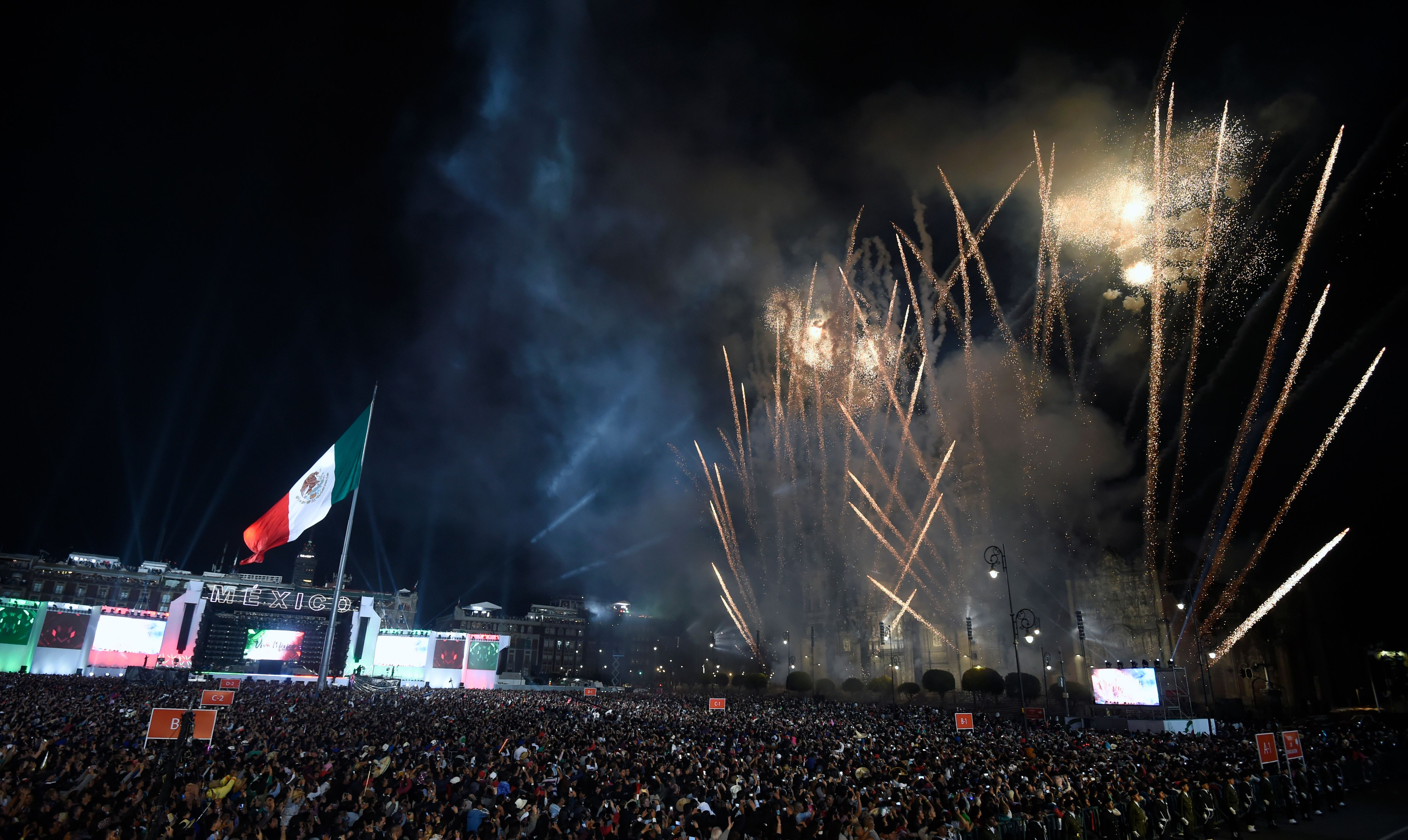 MEXICO-POLITICS-HISTORY-INDEPENDENCE-ANNIVERSARY