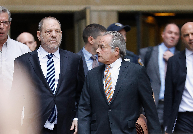 Harvey Weinstein Leaves Court After Criminal Case Hearing