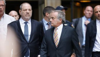 Harvey Weinstein Leaves Court After Criminal Case Hearing