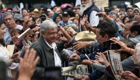 MEXICO-POLITICS-LOPEZ OBRADOR-RALLY