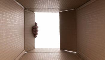 Hand Opening Cardboard Box