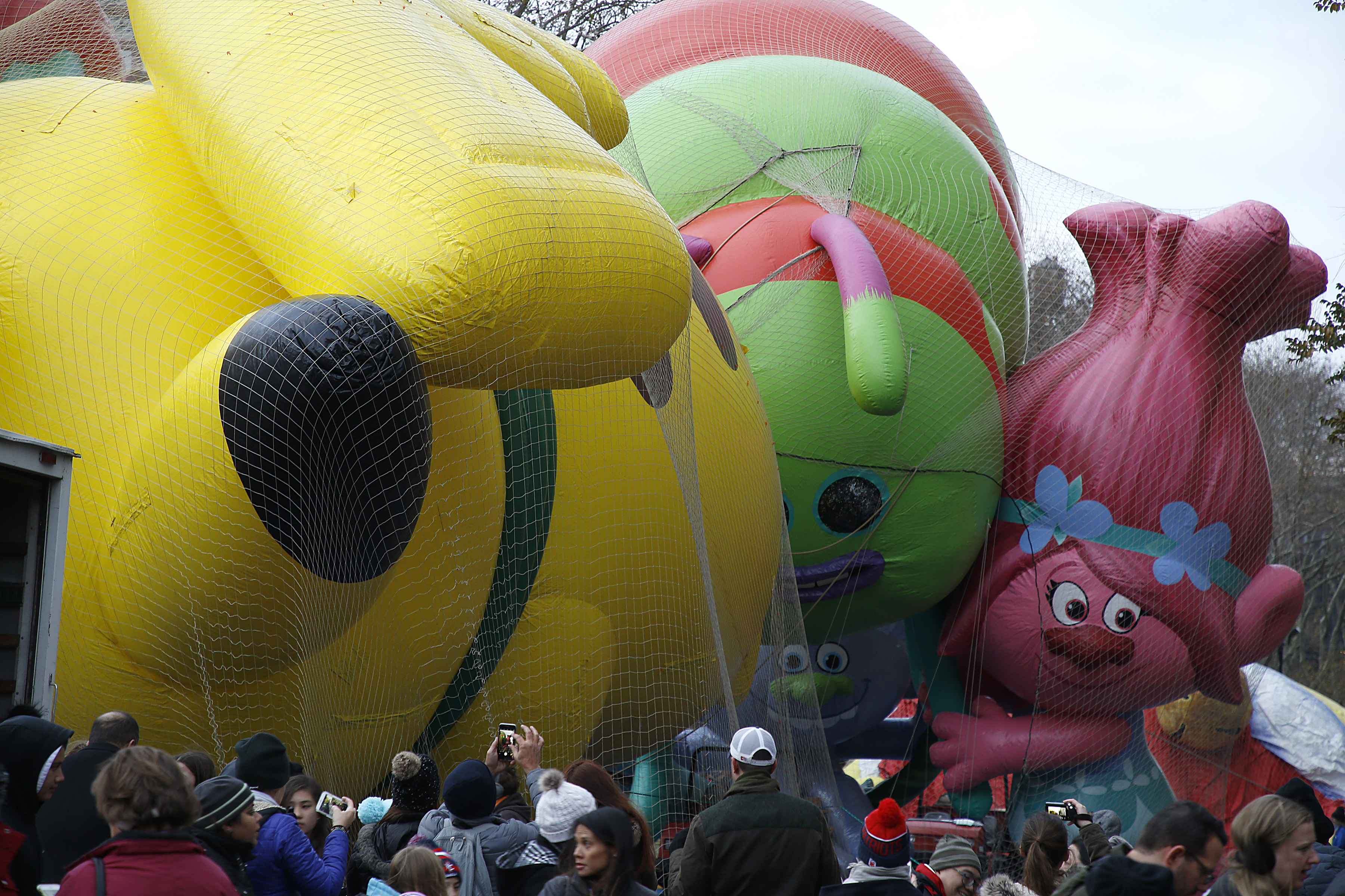 92nd Annual Macy's Thanksgiving Day Parade - Inflation Eve