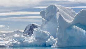 Melting Iceberg In Antarctica