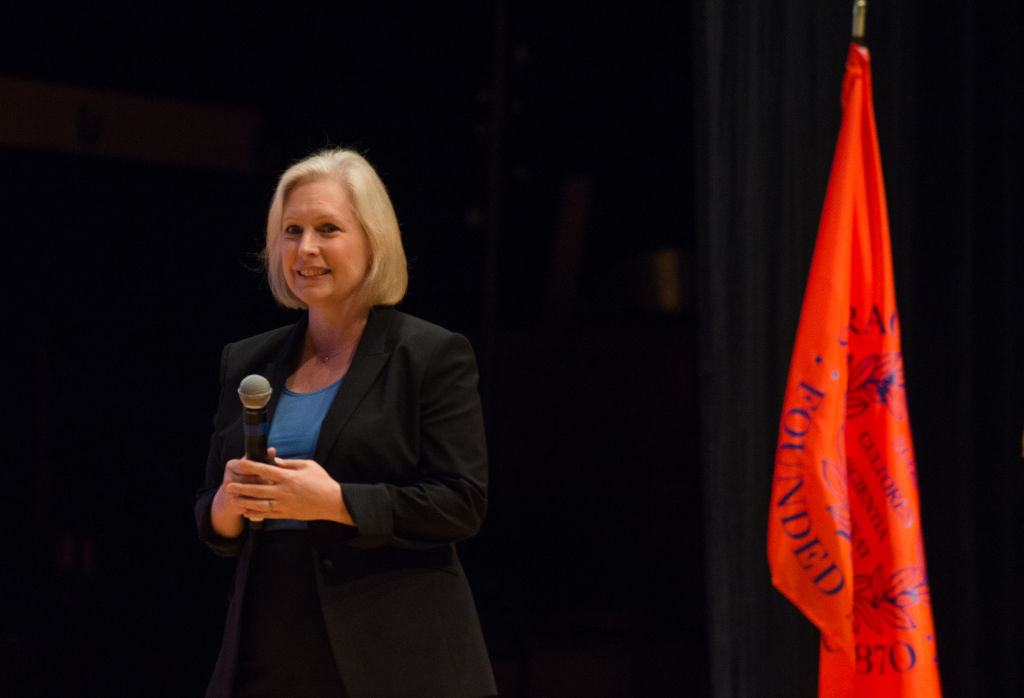 New York Senator Kristen Gillibrand Holds Town Hall in Syracuse, NY
