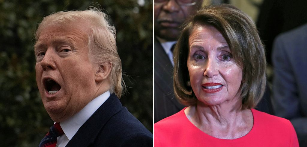 COMBO-US-IMMIGRATION-SHUTDOWN-BORDER-TRUMP-POLITICS