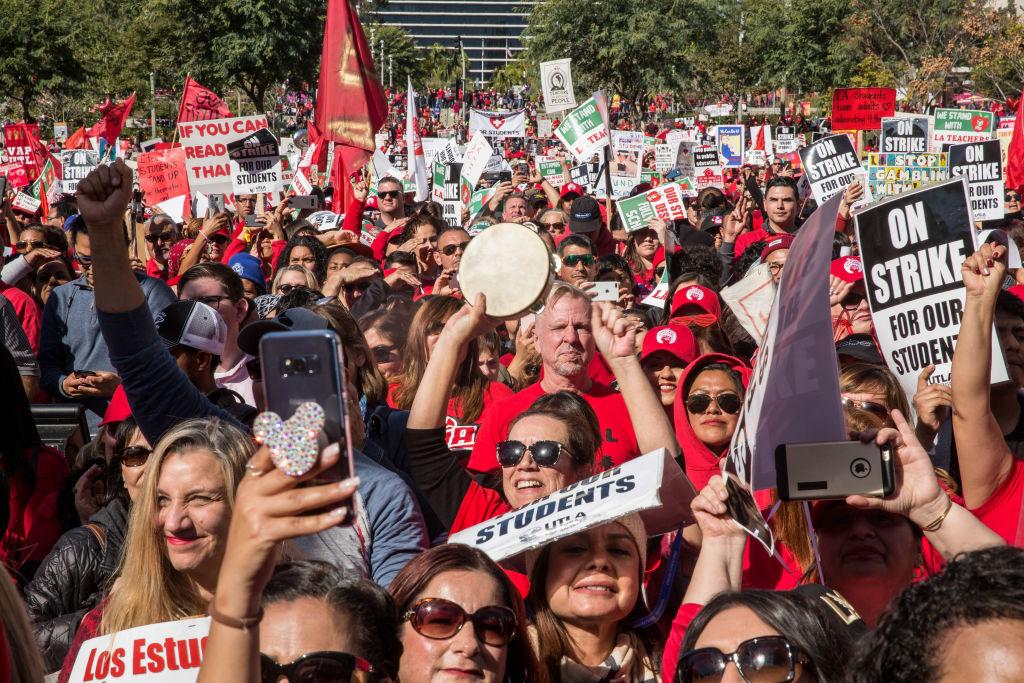 Los Angeles Teachers Reach Tentative Strike Settlement