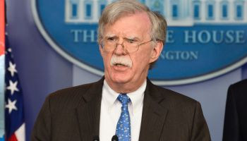 John Bolton, National Security Advisor of the United States...