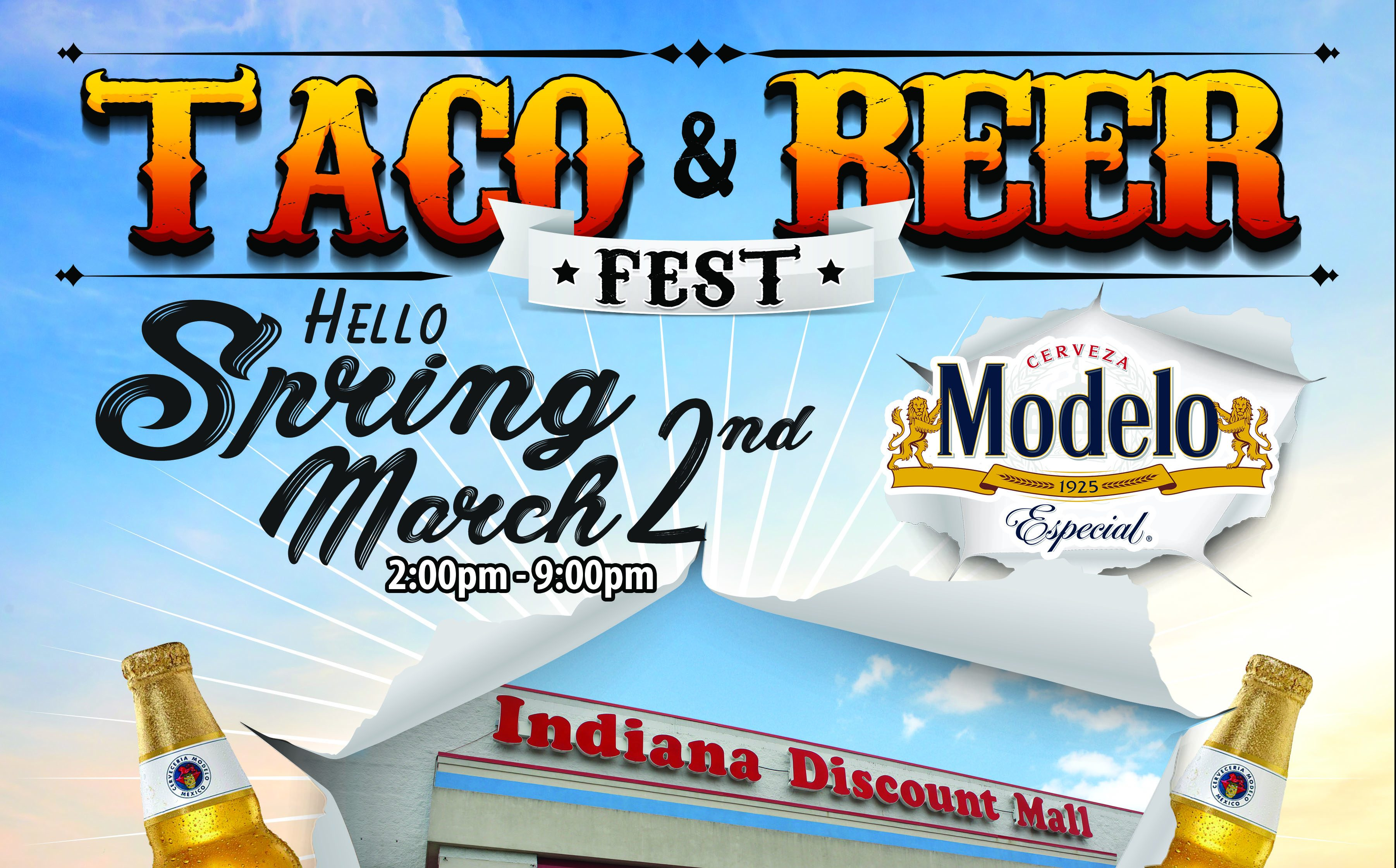 Taco & Beer Fest - March Flyer