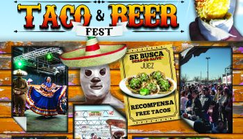 Taco & Beer Fest May 2019 Flyer