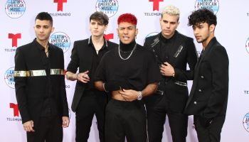 CNCO attends The 2019 Latin American Music Awards in Los Angeles