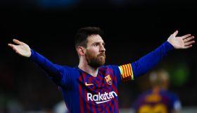 UEFA Champions League FC Barcelona v Liverpool