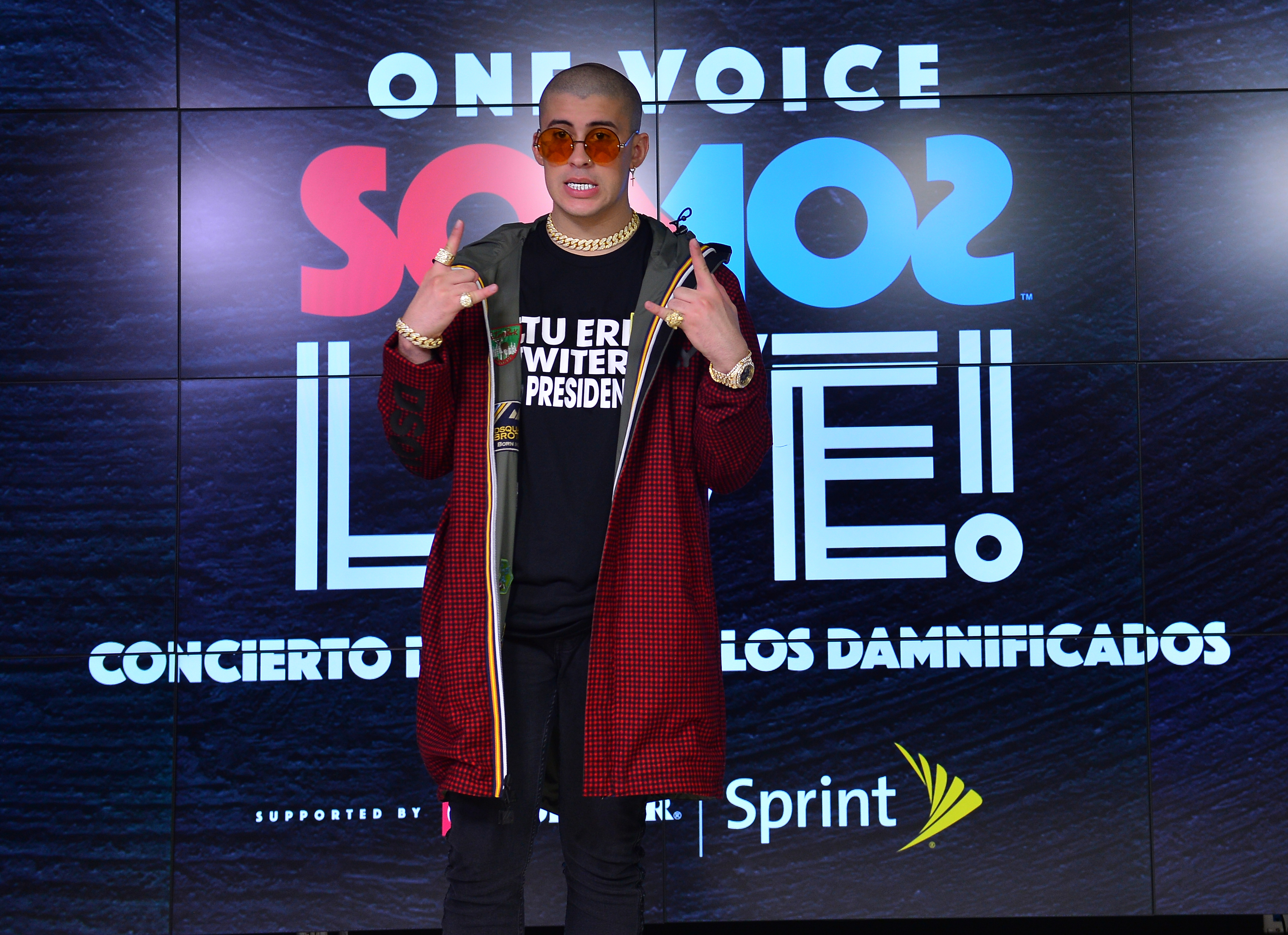 One Voice: Somos Live! A Concert For Disaster Relief - Press Room