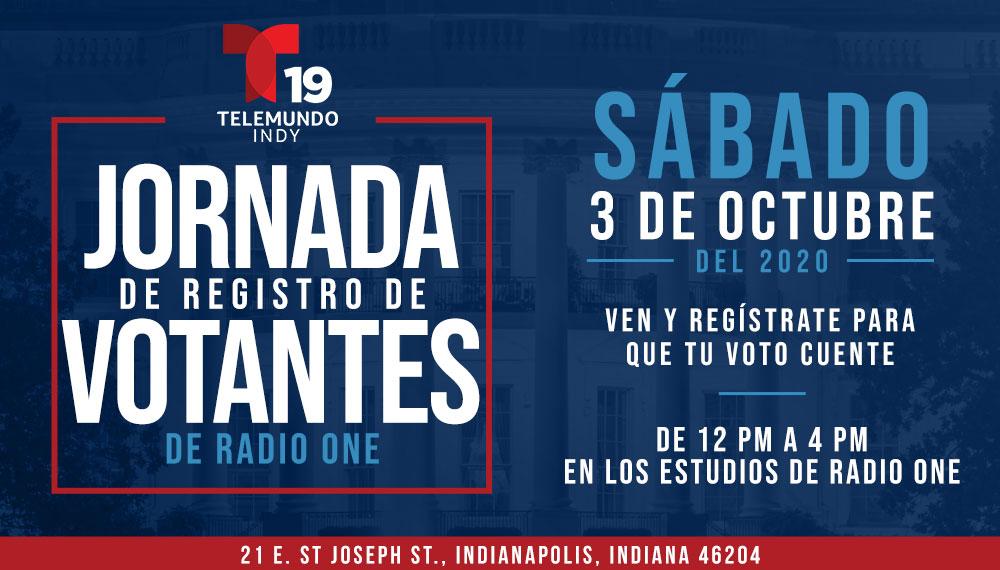 Voter Registration Block Party Oct 3 Indy