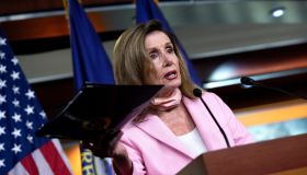 Nancy Pelosi Holds Her Weekly Press Conference Together with Chuck Schumer